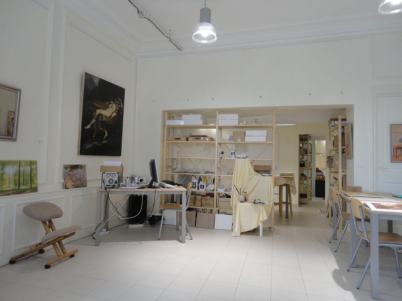 atelier des fontaines l 39 atelier du chevalet blanc. Black Bedroom Furniture Sets. Home Design Ideas