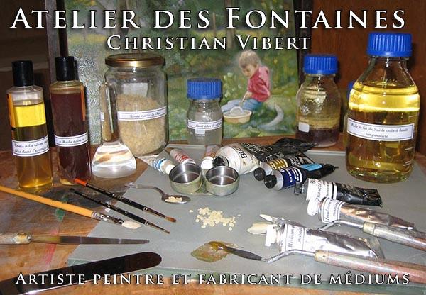 bannière Christian Vibert - Fabricant de médiums